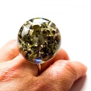 Oryginalne pierścionki srebrne z leśną inspiracją.