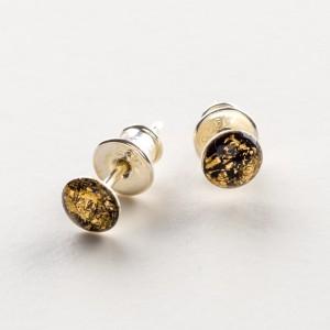 Kolczyki wkrętki minimalistyczne srebro 925