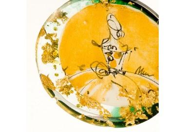 Naszyjnik złoty handmade biżuteria artystyczna 3
