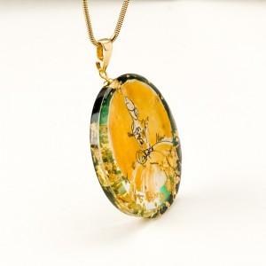 Naszyjnik złoty handmade biżuteria artystyczna 1