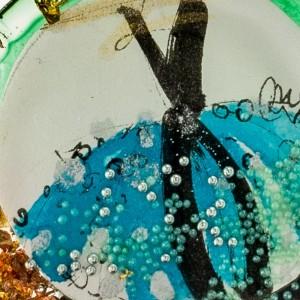 Naszyjnik nietuzinkowy ręcznie malowany 2