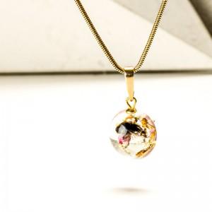 Biżuteria artystyczna- naszyjnik minimalistyczny.1