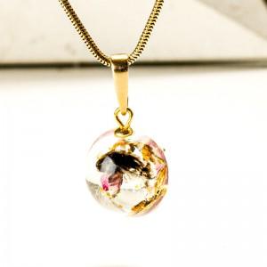 Biżuteria artystyczna- naszyjnik minimalistyczny.