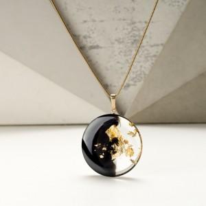 Unikalna biżuteria, naszyjnik złoty.1