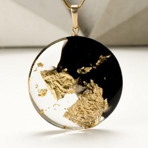 Nowoczesna biżuteria artystyczna, naszyjnik.