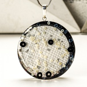 Srebrna biżuteria artystyczna.1