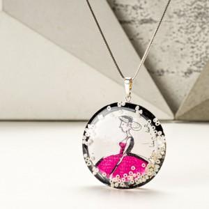 Grafika artystyczna w biżuterii.1