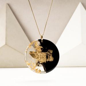 Biżuteria z żywicy, złocona biżuteria. 1