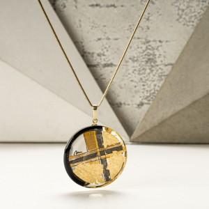 Idealny prezent na walentynki, biżuteria z grafiką.1