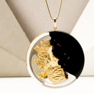 Biżuteria na prezent dla przyjaciółki, złocona biżuteria.1