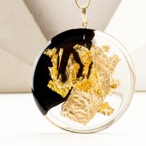 Biżuteria na prezent dla przyjaciółki, złocona biżuteria.