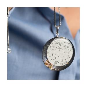 Naszyjnik artystyczny-naszyjnik z grafiką.1