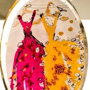 Naszyjnik damski ręcznie wykonany, biżuteria artystyczna od polskiego projektanta 1