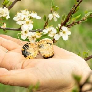 Kolczyki wiosenne inspiracje.1