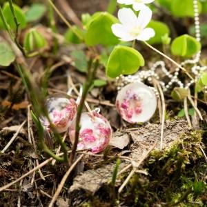 Biżuteria na wiosnę- kolczyki z kwiatami.1