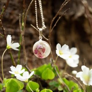 Naszyjnik wiosenny- biżuteria artystyczna.