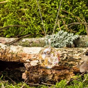 Naszyjnik inspirowany naturą.1