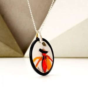 Wielofunkcyjnej biżuteria, naszyjnik z grafiką.1