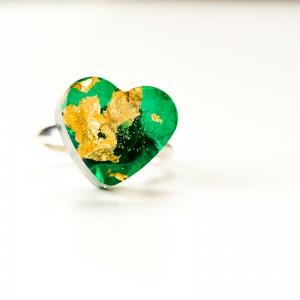 Srebrny pierścionek dla dziewczyny.1