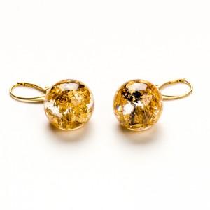 Komplet biżuterii złoconej dla mamy.1