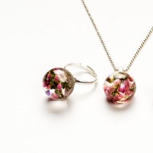 Komplet biżuterii srebrnej 925.1