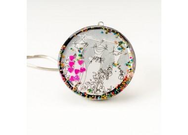Biżuteria artystyczna na prezent dla żony.1