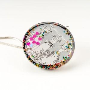 Biżuteria artystyczna na prezent dla żony.