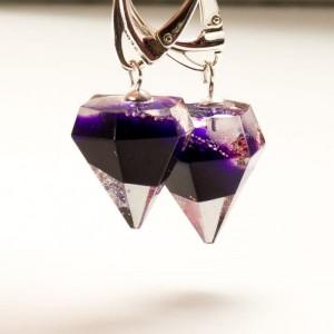 Kolczyki diamenty- prezent dla dziewczyny.