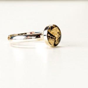 biżuteria artystyczna Pierścionek artystyczny minimalistyczny
